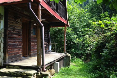 Rustic oasis in Brenna, Poland; Beskidy Mountains - Brenna - Hus