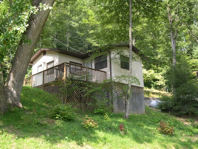 Harry's Cabin in the Smoky Mountains - Whittier - Casa