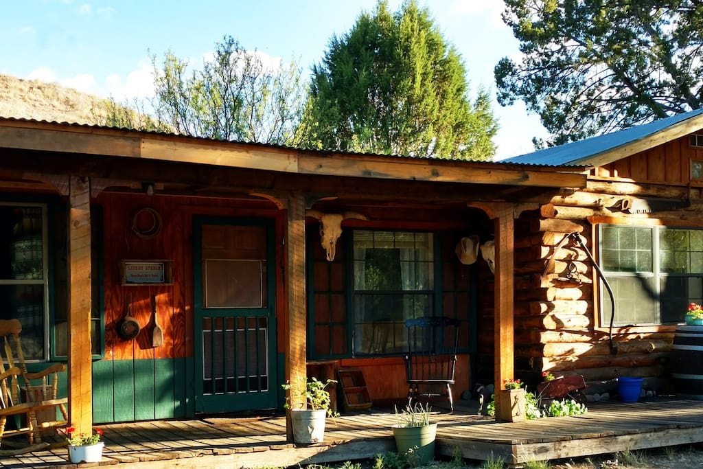 Agave Vacation Cabin Rental at New Mexico Cabin Rentals
