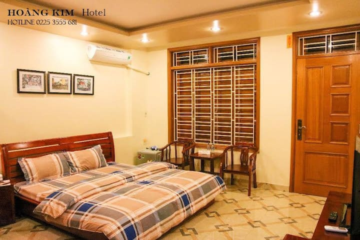 Private Double Room - Hoang Kim Hotel