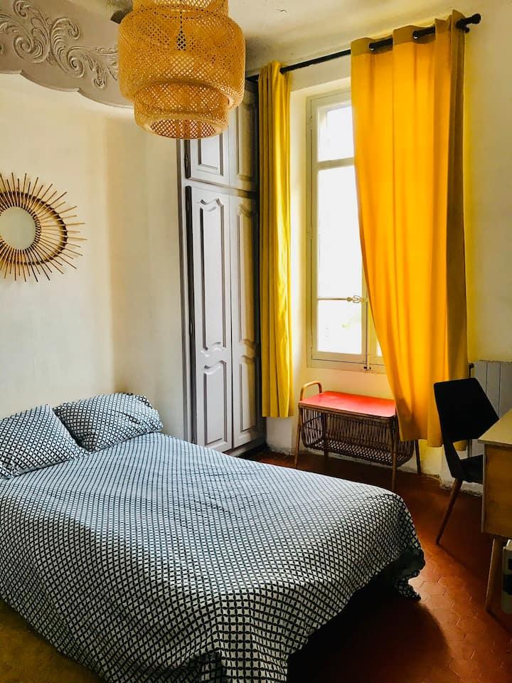 Chambre pour une personne quartier saint barnabé