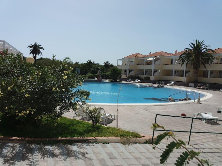 der groesste Pool  von Valle Gran rey