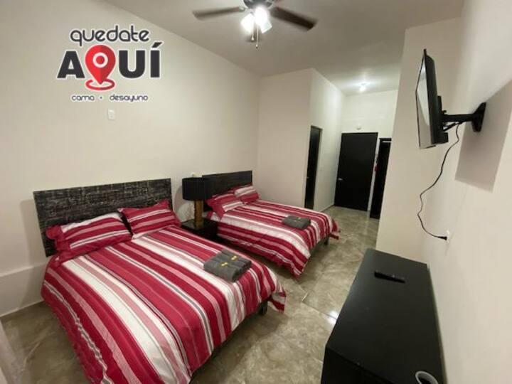 Habitación de Lujo en Excelente Ubicación (10)