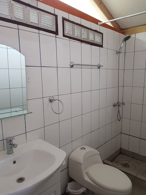 Baño privado con ducha