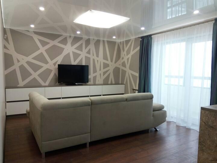 Apartment on Pobediteley ave
