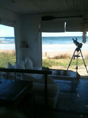 Casa única sobre la playa sur - Cabo Polonio - Huis