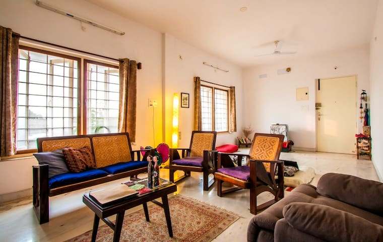 Simply Relax @ Home (a sprawling 1215sqft. 2BHK) - Puducherry - Appartement