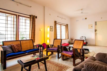 2 BHK -  HOME in Pondy - SIMPLY MEDITATE & RELAX - 旁迪切里(Puducherry)