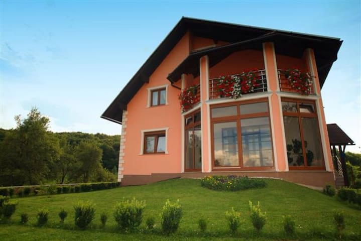 House in the green countryside.  - Otočac - Inap sarapan