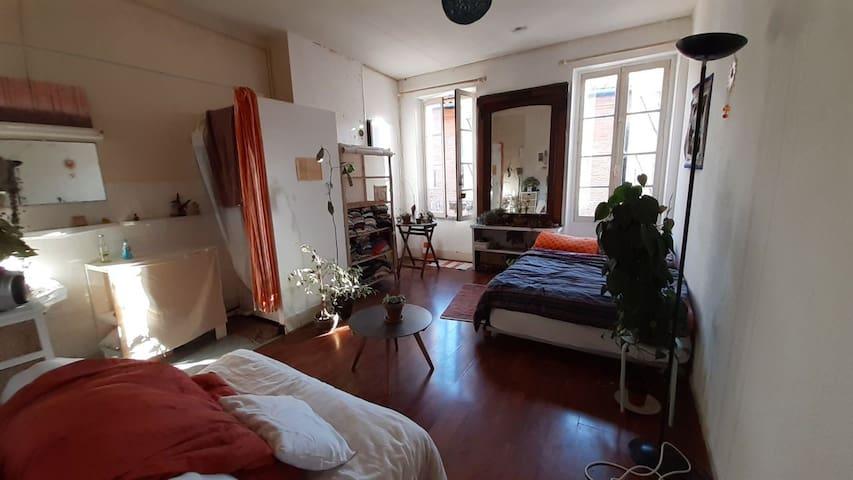 Appartement agréable et lumineux