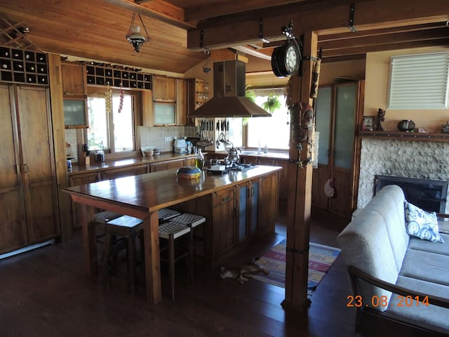 Doğanın kucağında  çiftlik evi - Yeniköy Köyü