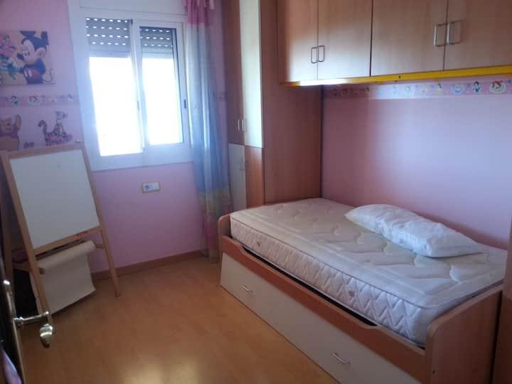 bonita habitacion doble