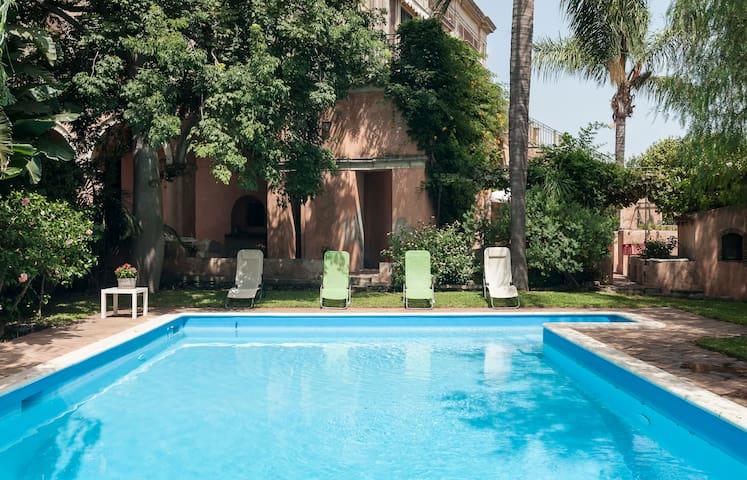 Villa Limoni(Farm,Etna,Sicily,pool) - Riposto - Casa de campo