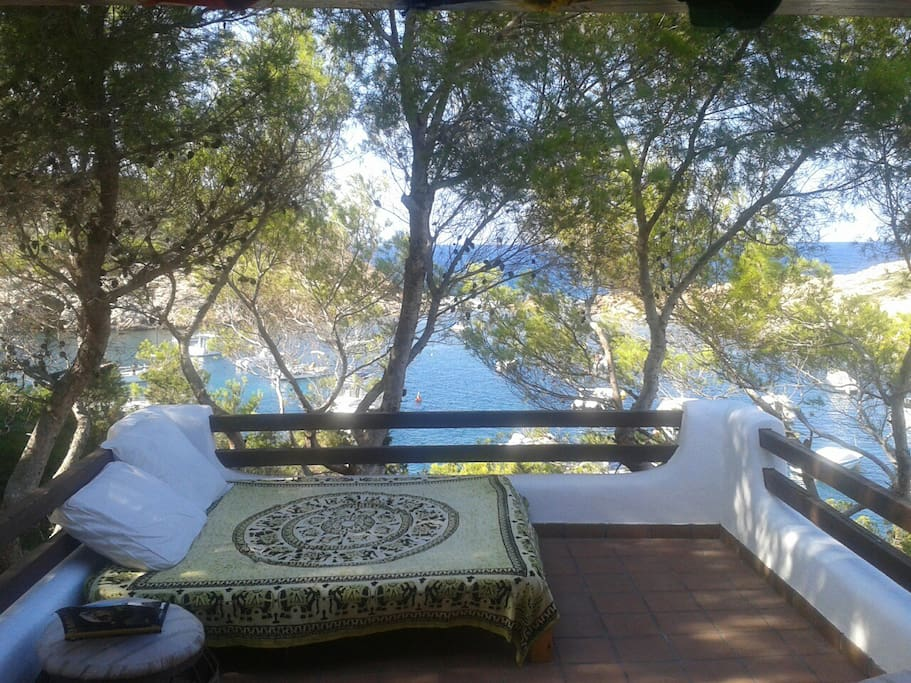 nice views over the mediterranean