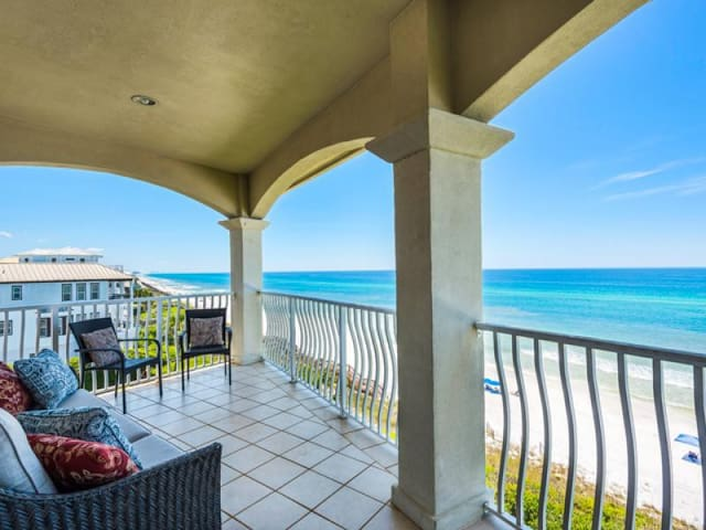 Monterey Condo A401 30A Breathtaking views of the Gulf from the living room! - Monterey Condos A401