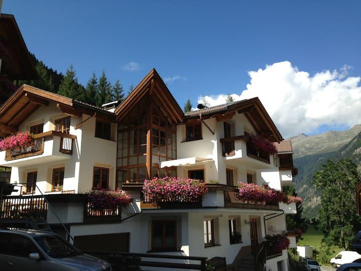Gemütliches Apartment in den Bergen
