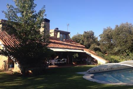 Gran Hab. dos camas baño privado - El Casar - Casa