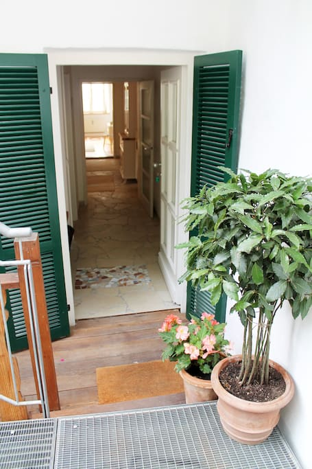 Eingang zur Wohnung - entrance to the apartment