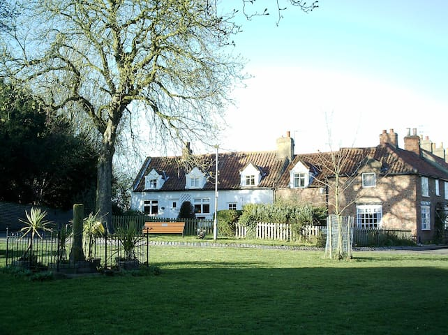 17th century cottage in conservation village