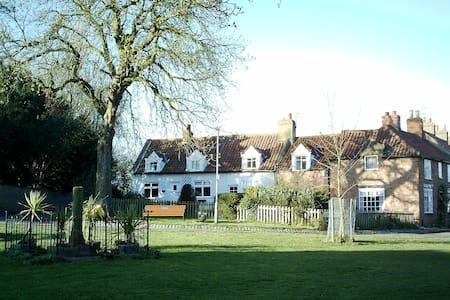 17th century cottage in conservation village