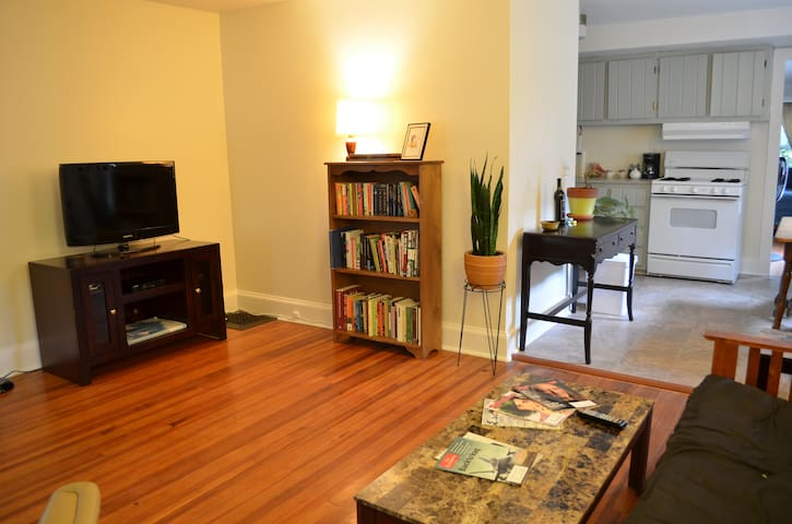 Private 1 Bdrm Apt Downtown
