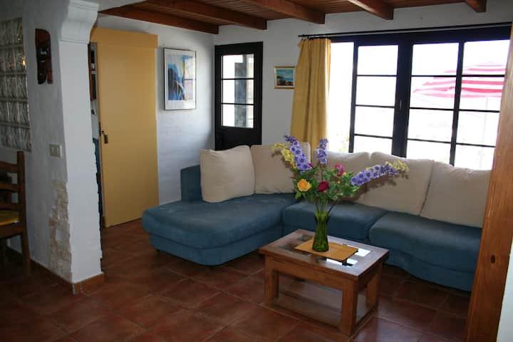 Schöne Duplex-Wohnung Los Caideros am Meer