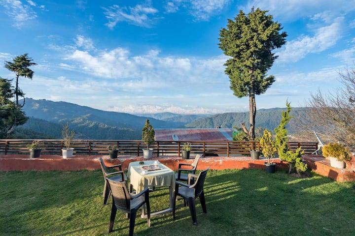 4BR Anindita Villa w/ Free BKFST+View@Mukteshwar