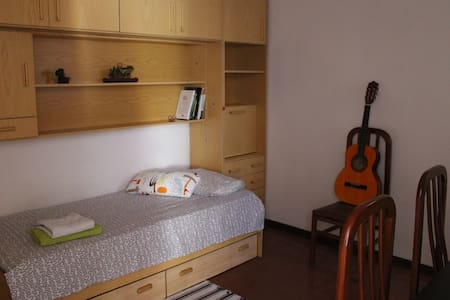 A room in the greenest part of BCN