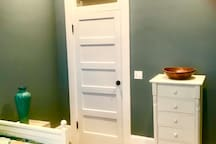 Bedroom number two also offers a large closet and clothes chest for your personal items!
