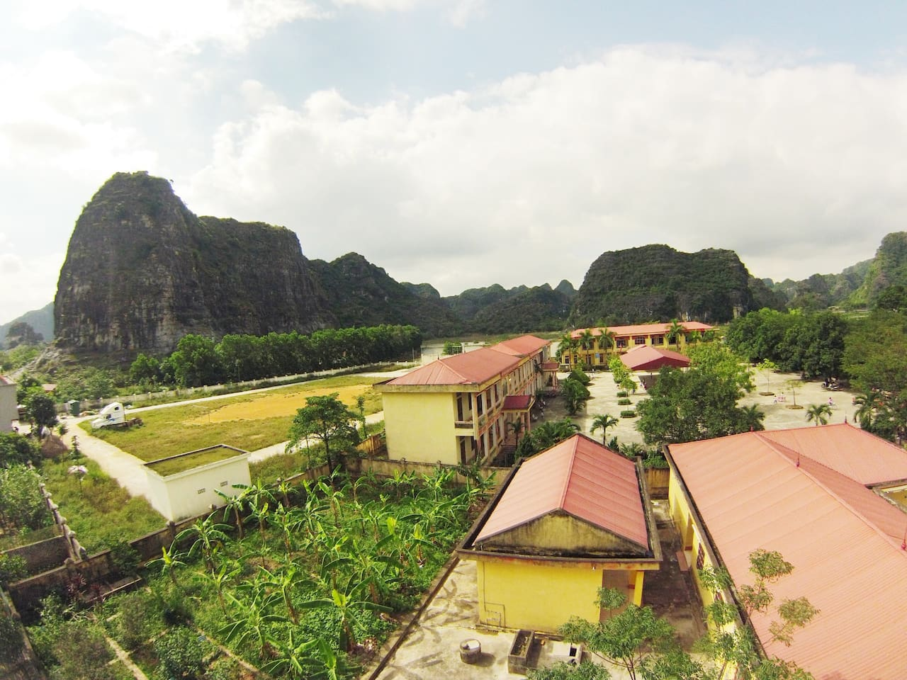 View from the homestay