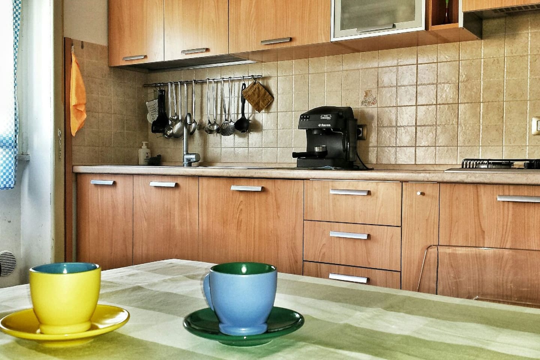 Ampia cucina abitabile
