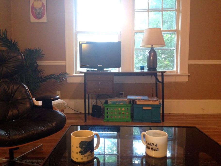 I'll leave good coffee for you. Enjoy it with the morning sunlight, the Chromecast, or music.