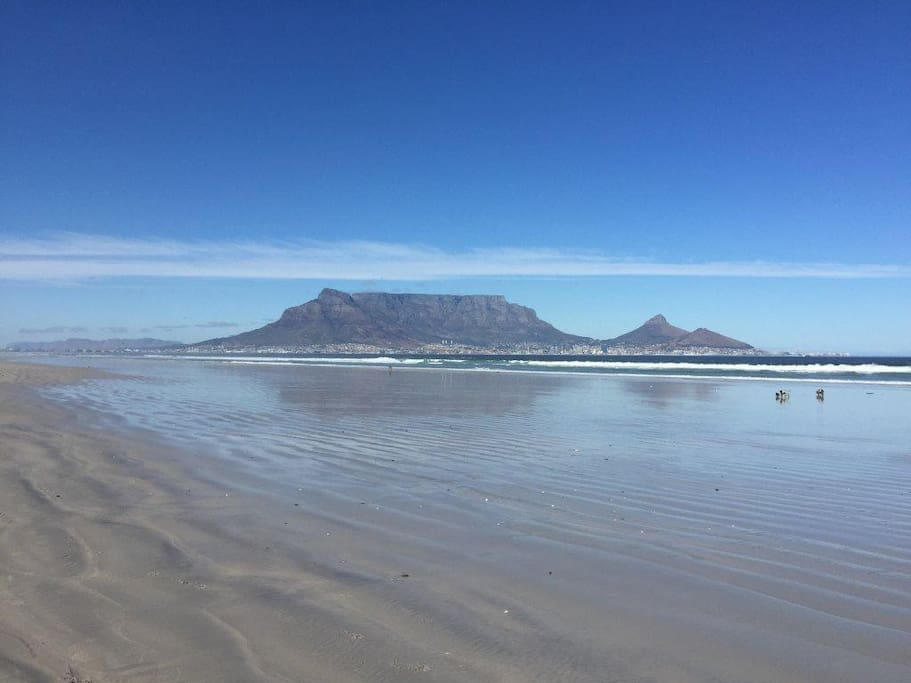 View from Sunset Beach (3minute walk)