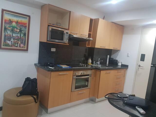 confortable apartamento completamente equipado