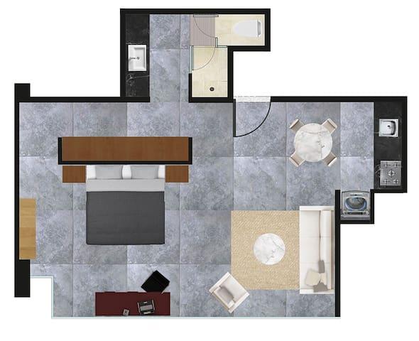 Suites BQ - Suite A