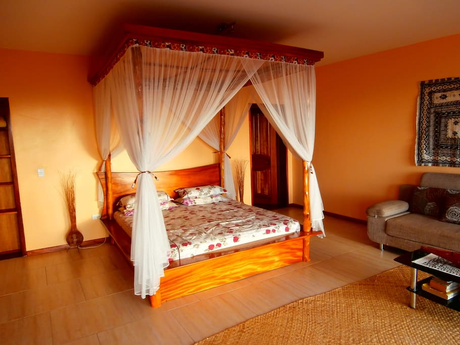 ... romantic king size bed