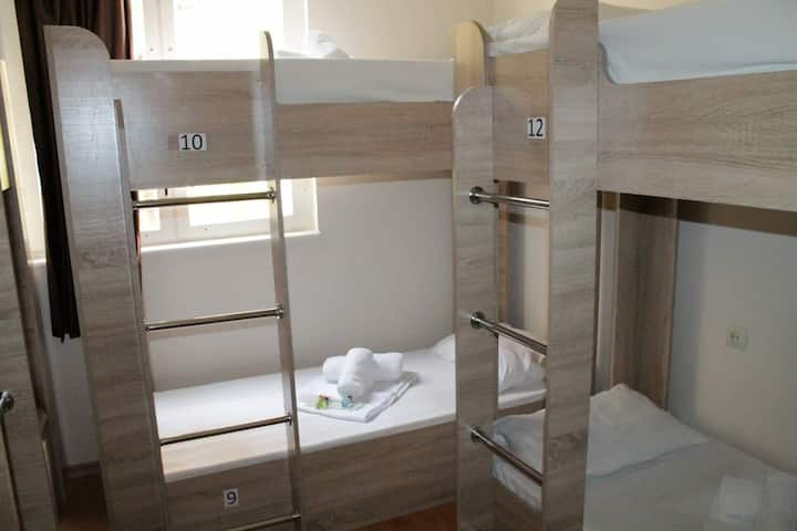 1 bed in 8bed dormitory