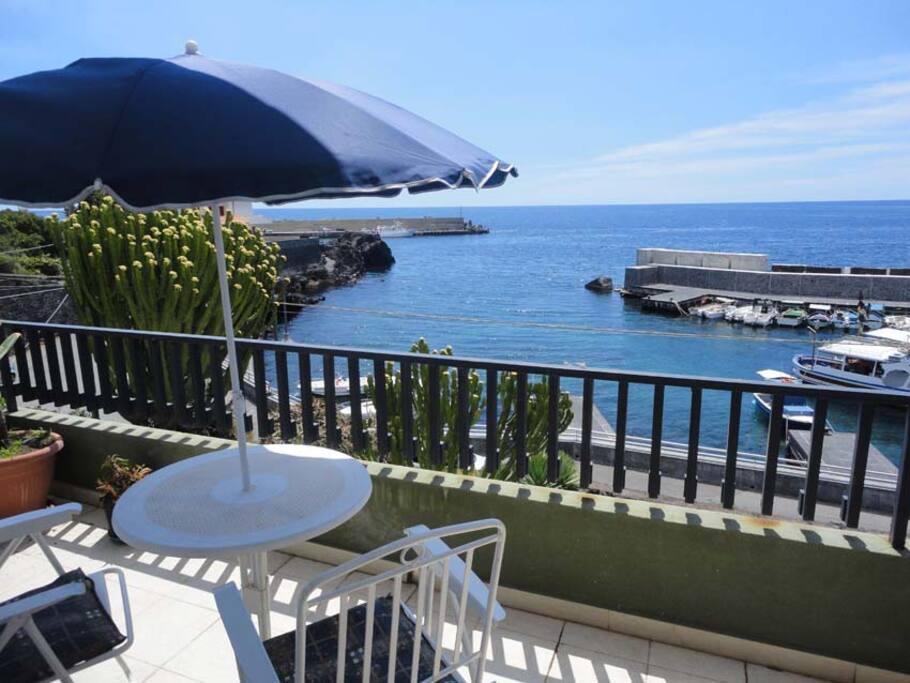 Il balcone sul mare