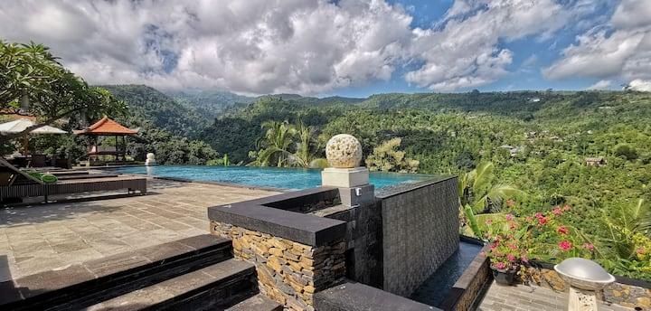 Valley view Villa in Lovina-2bedrooms