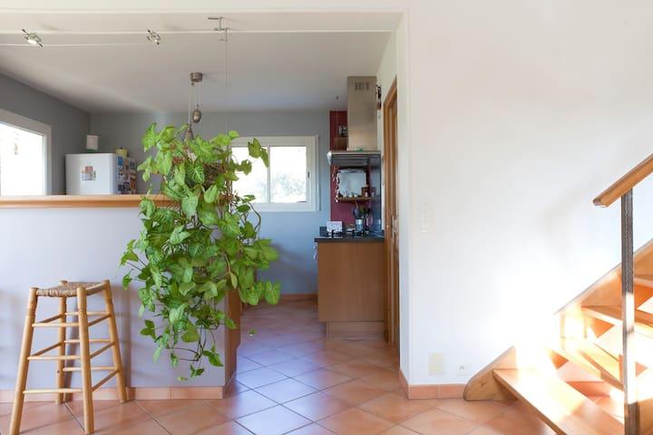 2 chambres proches de Nîmes et Montpellier - Montpezat - Huis