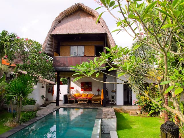 Eco House on Bali for rent! - Sul de Kuta - Casa
