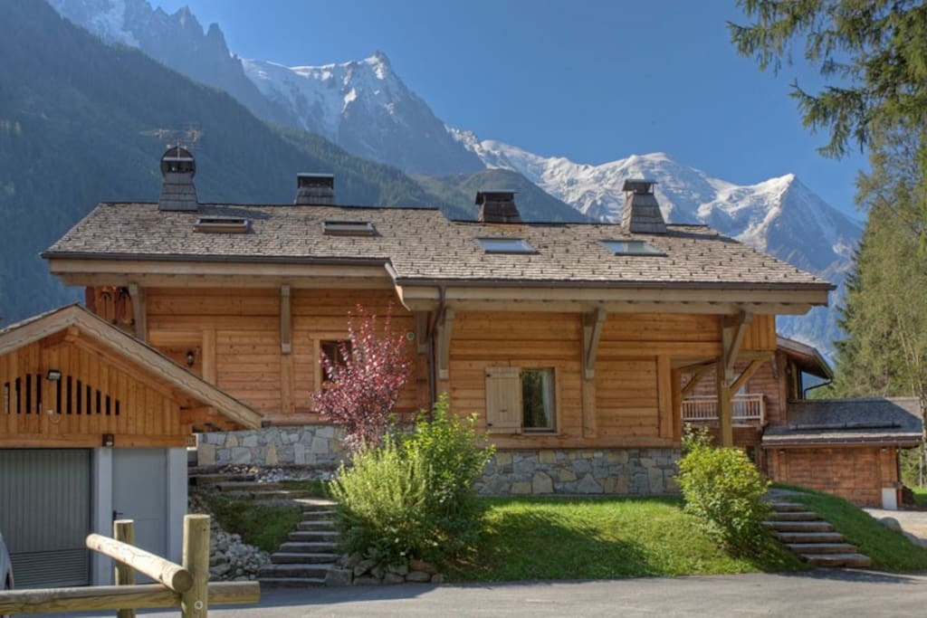 View over chalet