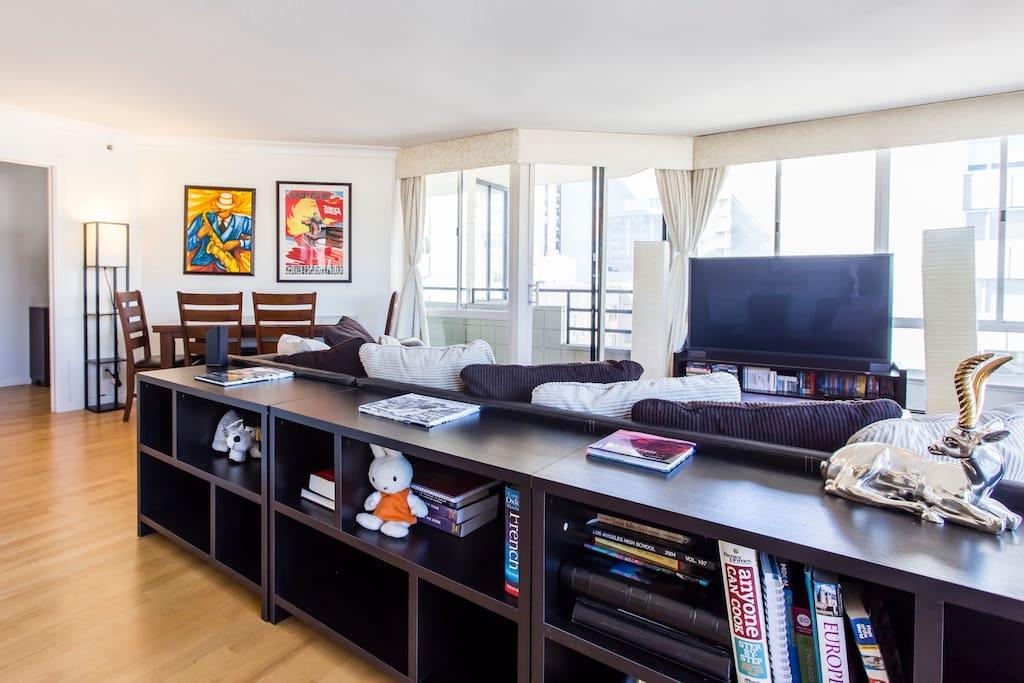 Livingroom (your room)