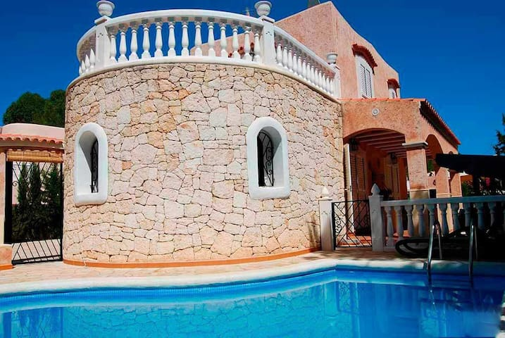 Villa in Ibiza of 2 floors very close to Es Canar - Santa Eulària des Riu - Villa