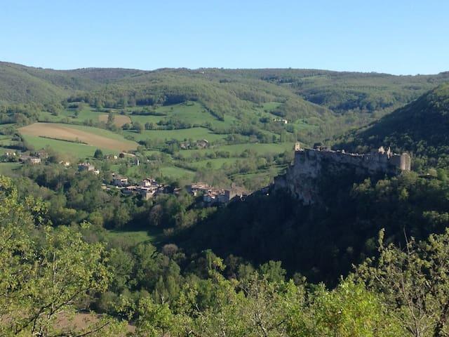 Bastide/middelalderby,Fantastic Vue - Penne, Tarn - Apartment