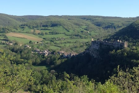 Bastide/middelalderby,Fantastic Vue - Wohnung