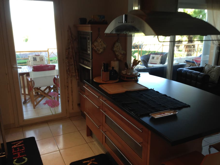 Modern American style kitchen