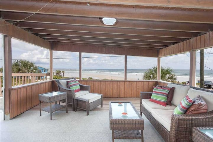 Lenora's Pelican Beach House - St. Augustine - Hus