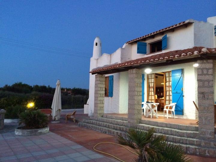 Villa panoramica nel golfo Asinara