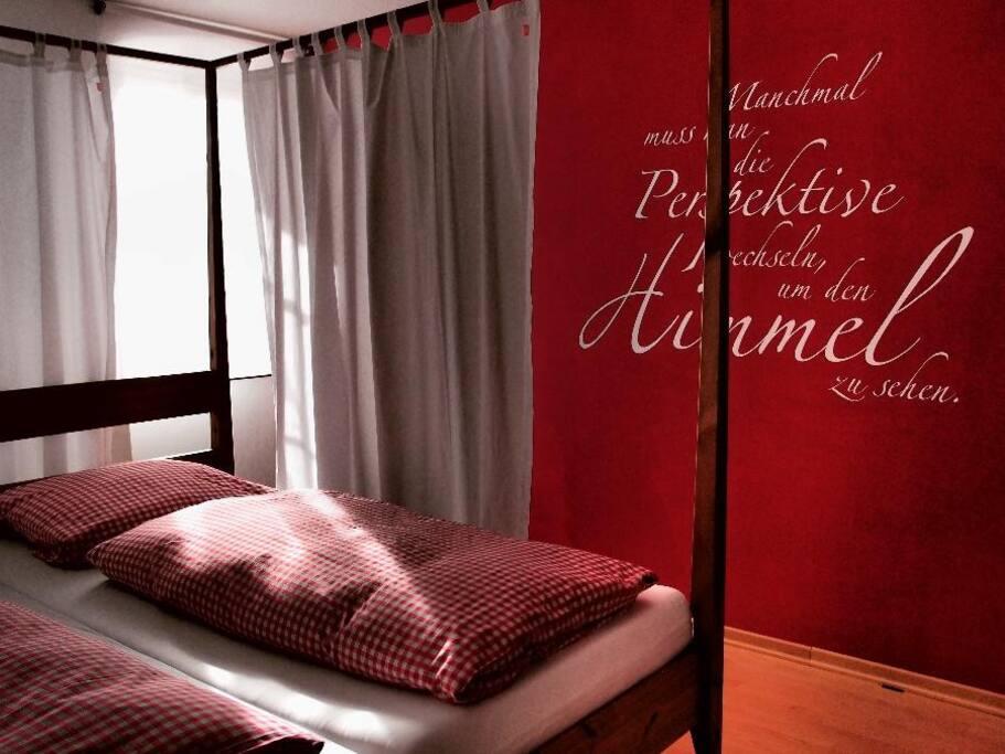 Das besondere Schlafzimmer!